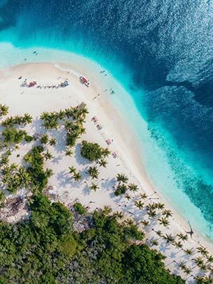 カリブ海リゾート